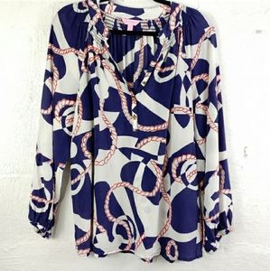 Lilly Pulitzer Silk Blouse